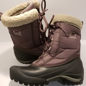 Sorel Cumberland Olive Thinsulate Snow Boots
